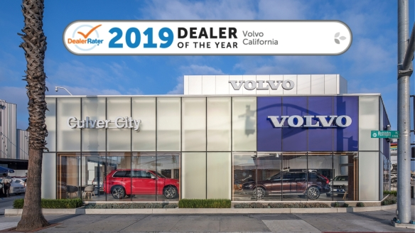 Culver City Volvo is the 2019 DealerRater Dealer of the Year
